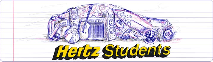 Introducing Hertz Student Car Hire