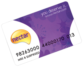 Image result for Sainsbury's Nectar card