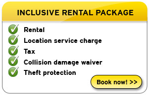 Hertz inclusive car hire