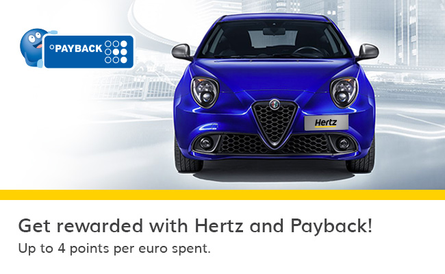 Payback Mini Karte.Hertz Payback