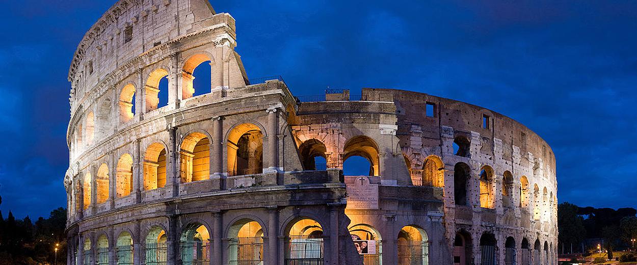 Colosseum i Italien