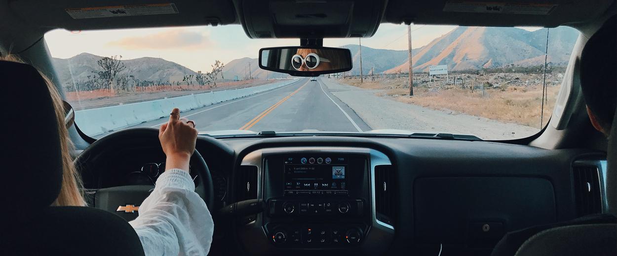 På vägarna i USA