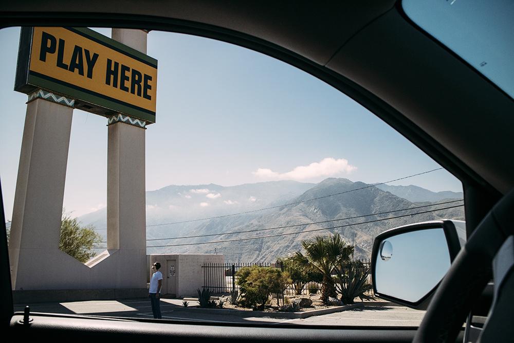 Utsikt från bil