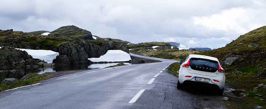 Roadtrip genom Vestlandet i Norge