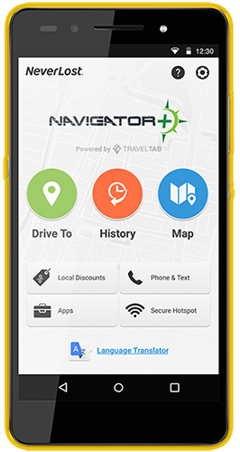 Neverlost Navigator+ - Hertz Car Rental