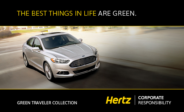 Hybrid Rental Cars - Hertz Green Traveler Collection