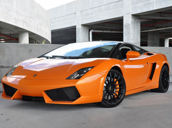 Lamborghini Gallardo Bicolore Rental Hertz - Sports cars to rent