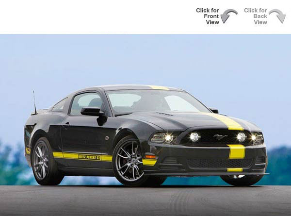Ford Mustang Gt Sports Car Commemorating Hertzs Sponsorship Of Penske Racing This Race Inspired Monster For The Street Is Only Available For Rent At