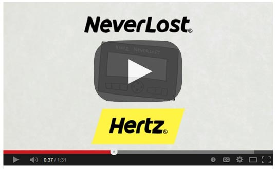 Rental Car GPS - Hertz NeverLost - Get a Free Day
