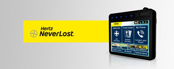 Hertz NeverLost GPS System