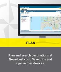 Hertz Rental Car GPS NeverLost System
