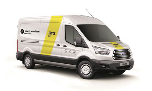 hertz 24 7 van rental fleet. Black Bedroom Furniture Sets. Home Design Ideas