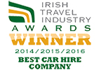 Hertz Wins Best Car Hire at Irish Travel awards