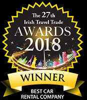 Irish Travel Trade Best Car Hire Company 2018