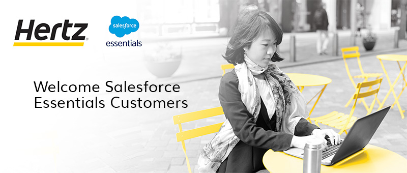 Salesforce.com Essential Welcome Page