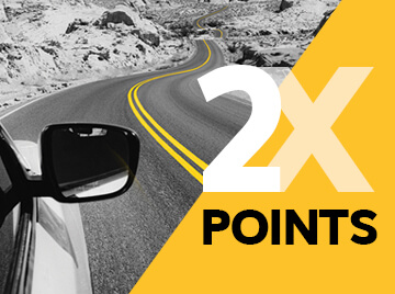 2x points for Gold Plus Rewards members