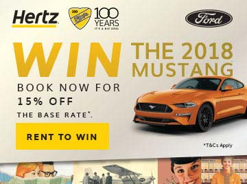 Hertz Years Win A Ford Mustang - Mustangs unlimited car show 2018