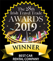 Irish Travel Trade Best Car Hire Company 2019