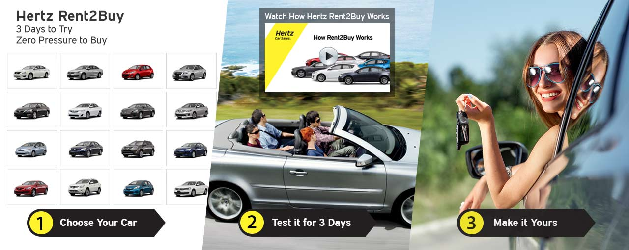 Buy Used Rental Cars - Hertz Rent2Buy