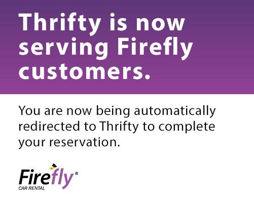 Firefly Car Rental Cheap Rental Cars