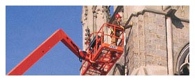 Aerial Equipment Rental - Articulating Boom Lift Rental