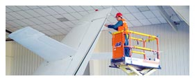 Aerial Equipment Rental - Scissor Lift Rental