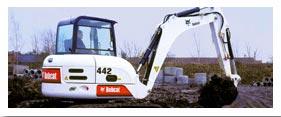 Earthmoving Equipment Rental - Excavator Rental