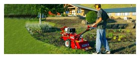 Lawn Equipment Rental - Garden Equipment Rental - Tiller Rental