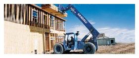 Material Handling Equipment Rental - Construction Forklift Rental