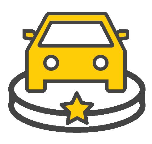 Fuel-efficient cars icon - Hertz