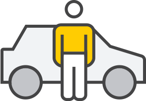 Pick-up icon - Hertz