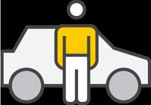 Pick-up icon - Hertz