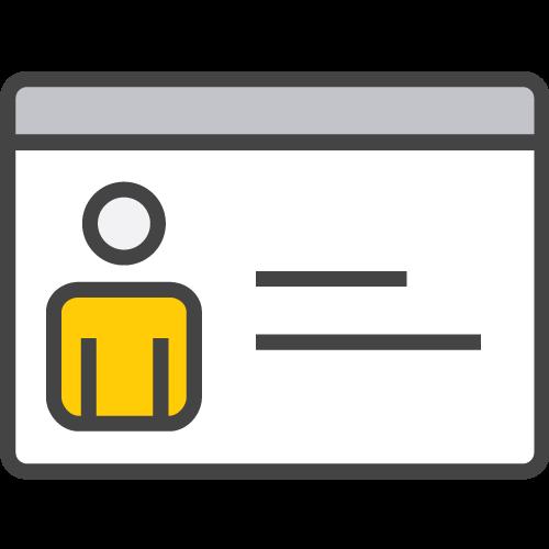 Register icon - Hertz