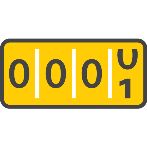Unlimited miles icon - Hertz