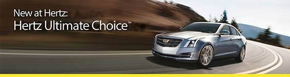 Hertz Ultimate Choice™  – You Choose your Rental Car