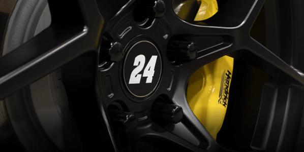 Custom wheels and brake calipers