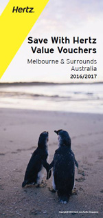 HERTZ Value Vouchers: Melbourne & Surrounds, Australia