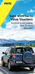 HERTZ Value Vouchers: New zealand