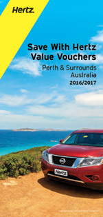 HERTZ Value Vouchers: Perth & Surrounds, Australia