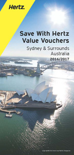 HERTZ Value Vouchers: Sydney and Surrounds, Australia