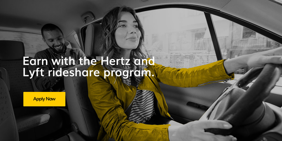 Lyft Rideshare Program - Hertz