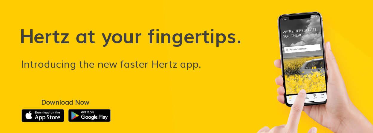 App | Mobile | Hertz