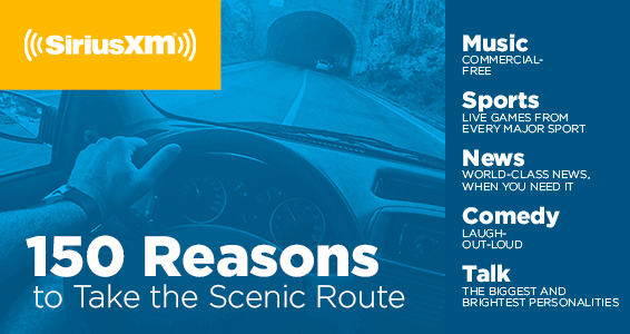 Music, Sports, News, Comedy, Talk from SiriusXM - Hertz Rental Car