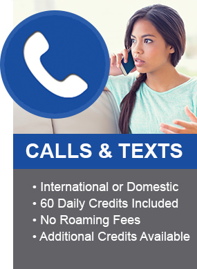 calls and texts feature