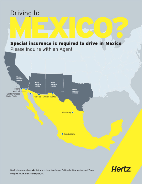 Mexico Road Trip Car Rentals  - Hertz Rental Cars