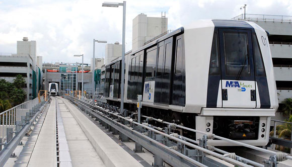 Dollar Rent A Car Miami Airport: Take The New MIA Mover