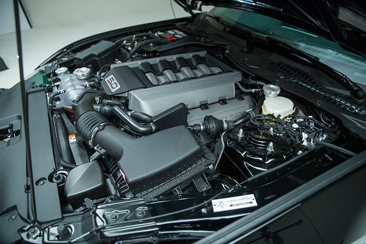 Under the Hood - 2016 Ford Shelby GT-H