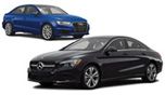 (X6) Mercedes CLA250/Audi A3 or Similar